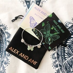 Alex and Ani Jewelry - Alex and Ani Butterfly Bracelet